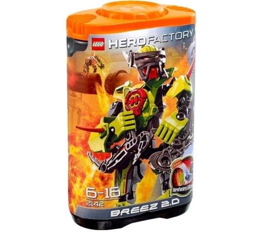 Lego Hero Factory 2142 Breez 2.0