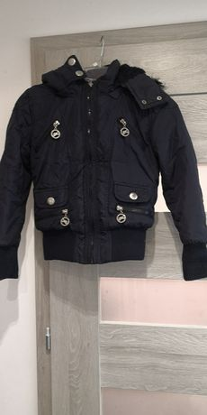 Piękna kurtka zimowa dla damy rozmiar. 128 cm.