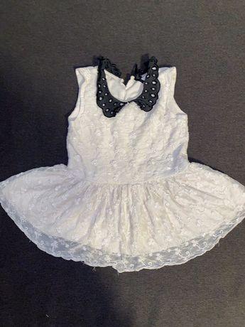 Платье фирменное Next бежевое 3-5 лет. 98 размер.