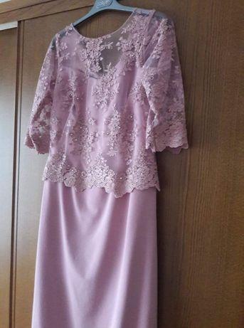 vestido de cerimonia comprido, usado uma só vez