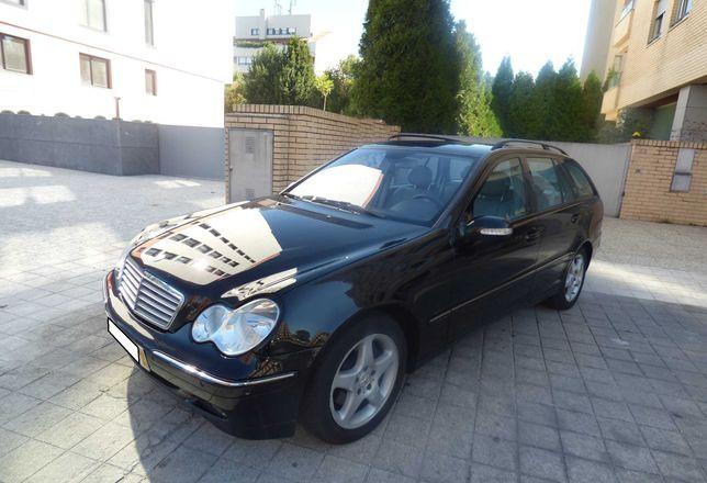 Mercedes C270CDI SW 170cv Avantgarde Estofos pele