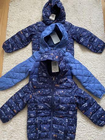 Курточки Impidimpi для мальчиков на р.92,98,104,110