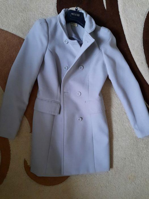 Пальто осіннє сіре Хмельницкий - изображение 1