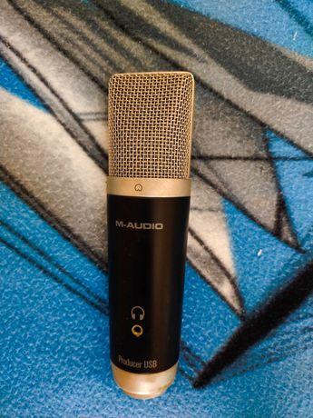 Mikrofon Pojemnościowy M-Audio na USB