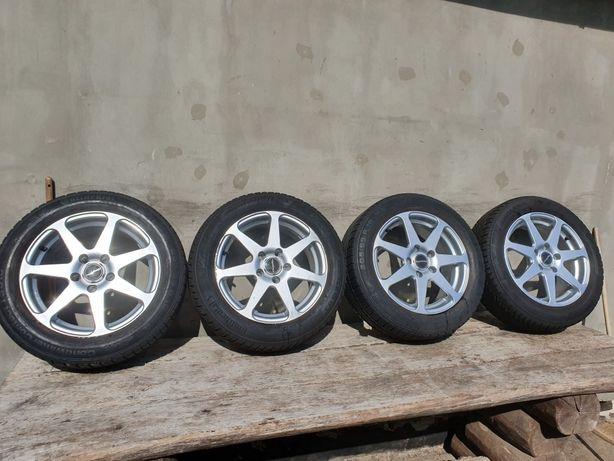 Диски с зимней резиною Титани R16 5/114.3 Dia 60.1 Toyota Auris