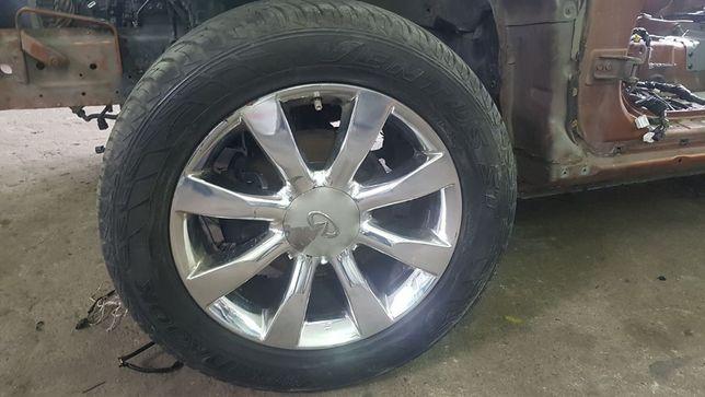 Диски R20, шины hankook ventus st 285/50r20 на Infiniti (Инфинити) FX