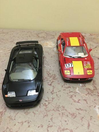 Bugatti EB 110 e Ferrari 348 TB - Burago
