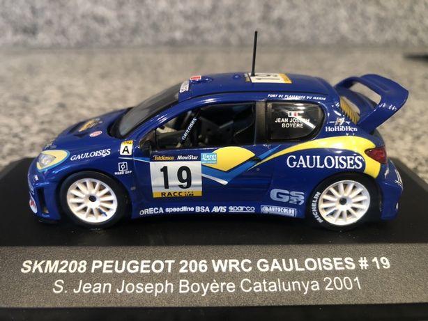 Peugeot 206 WRC Gauloises #19 skala 1:43