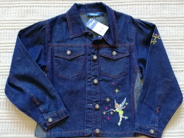 Bluza kurtka jeans DISNEY rozm.128, 8 lat