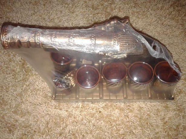 Подарок Набор керамический для вина+ 6 стопок