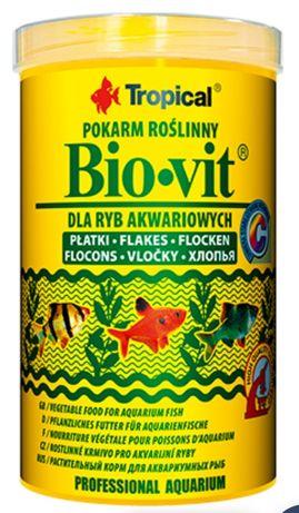 Tropical BIOVIT 250 ml - pokarm roślinny dla ryb akwariowych.