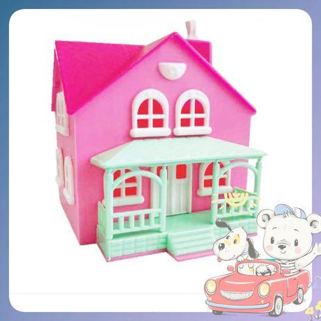 Игрушечный домик-копилка, подарок для девочки.