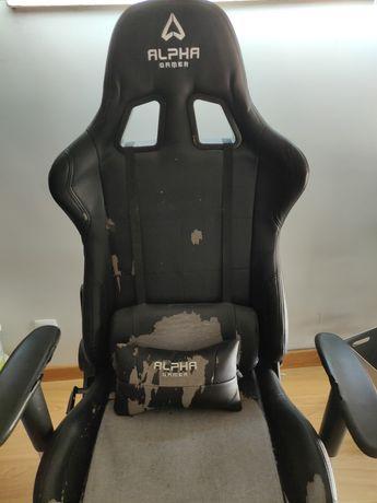 Cadeira Gaming de escritório Alpha Gamer