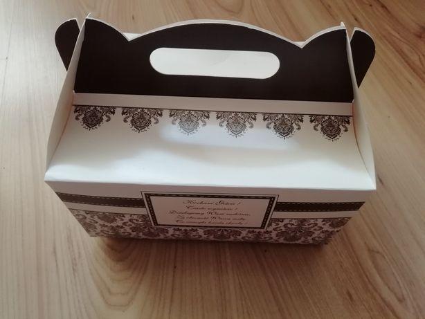 Pudełka na ciasto dla gości weselnych15 szt Wesele Ślub Goście