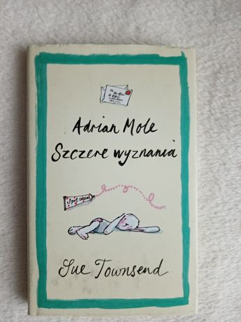 """Książka """"Adrian Mole Szczere Wyznania"""" Sue Townsend"""
