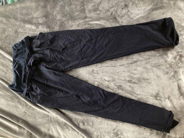 Spodnie ciazowe dresowe zwezane m wygodne