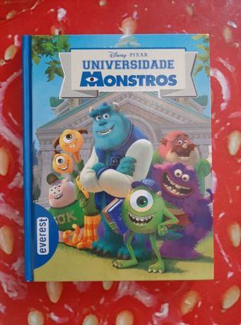 Livro «Universidade Monstros» [Capa Dura]