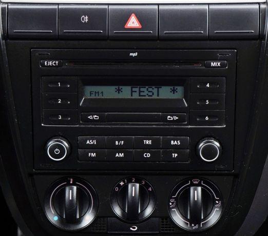 / Volkswagen / ORYGINAŁ / Radio CD / MP3 / 2 DiN /