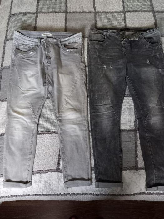 Jeans damskie szare popielate rozmiar 42/44 Mościsko - image 1