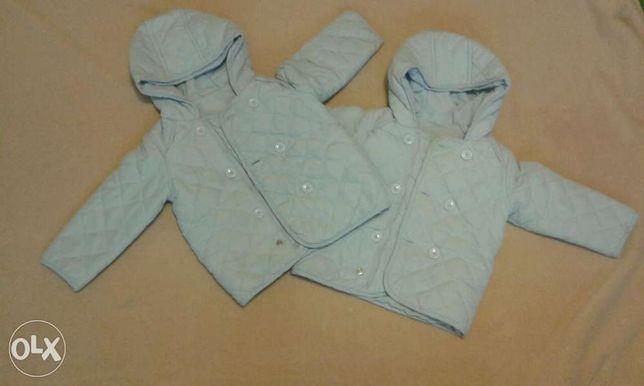 Kurteczki dla bliźniaków rozmiar 12-18 m-c - cena dotyczy 2sztuk
