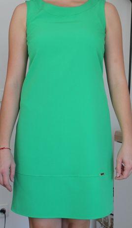 Sukienka na wesele, zielona, rozm. 38
