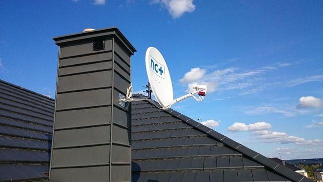 Montaż,naprawa anten SAT ,DVB-T,Cyfra +,Polsat