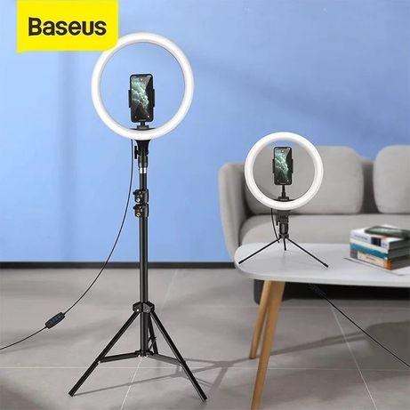"""Suporte Pedestal para Live Stream com luz 10"""" -Baseus-Novo-24h"""