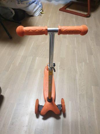 Детский трехколесный самокат Scooter от 3 лет