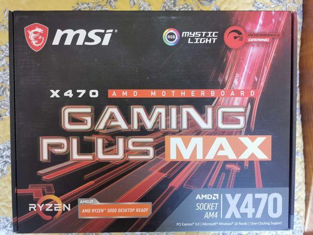 Mother Board MSI X470 Gaming Plus Max