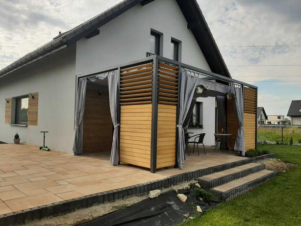 Zadaszenie tarasu, wiata, pergola, balkon