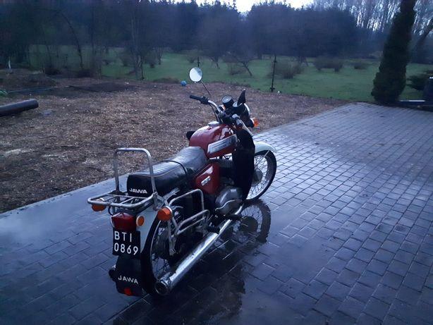Jawa 350 634 DeLux zarejestrowana