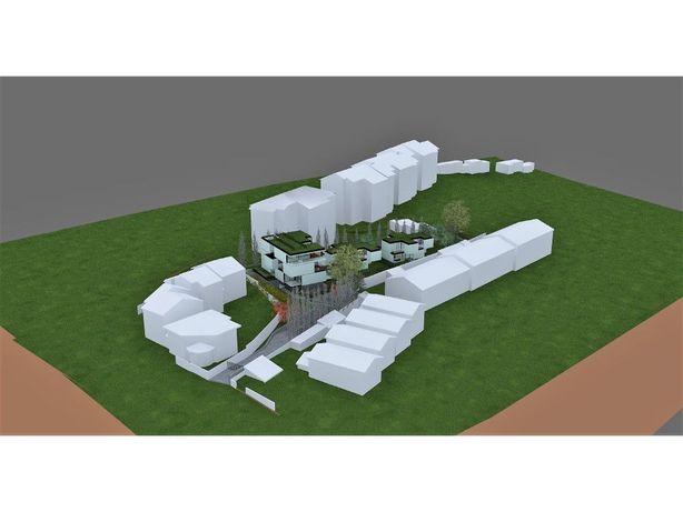 Terreno urbano com projecto aprovado na Parede
