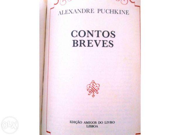 """""""Contos breves"""" - clássico autor Alexandre Puschkine!"""