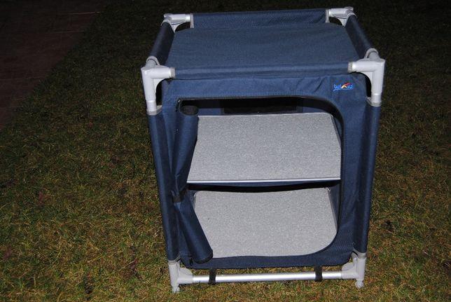 Przyczepa kamper szafka lekka z półkami