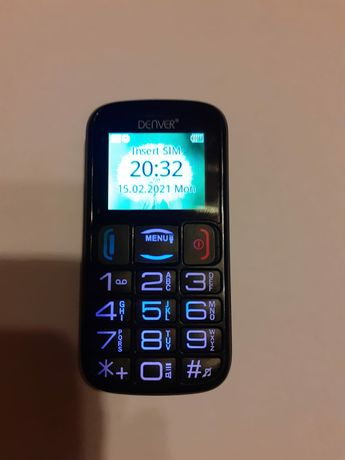 Telefon Denver - duże przyciski