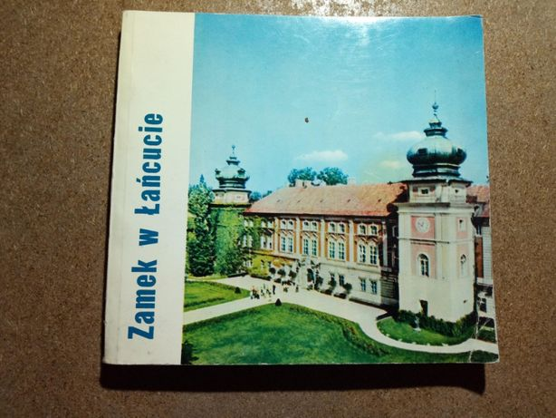 Broszura z PRL, Zamek w Łańcucie, 1973r.