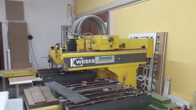 Centrum obrubcze CNC WEEKE 10 BP .Koszt 8000 zł