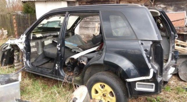 Разборка Suzuki Grand Vitara 2005-2014 капот дверь двери ляда четверть