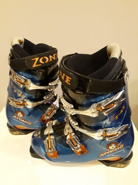 ATOMIC Zone 745 Buty narciarskie rozm.307mm CARBON. OKAZJA!!!