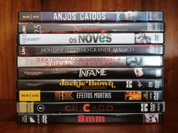 Lote de 10 DVD's
