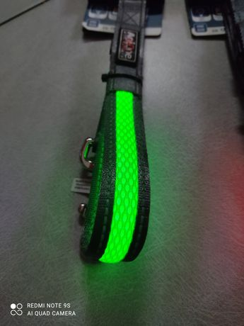 Smycz świecąca, LED, ładowanie USB NOWA