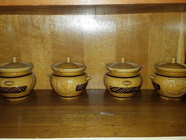 Глиняные горшочки