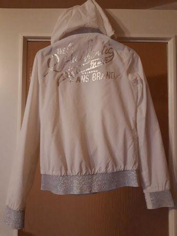 Bluza biala na zamek rozmiar s