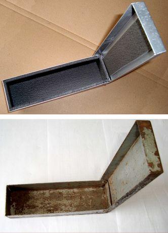 Небольшой металлический ящик производства СССР для инструмента и пр.