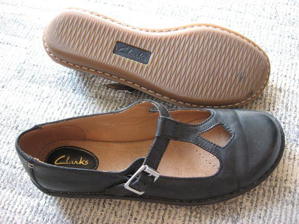 CLARKS ARTISAN Damskie buty skórzane baleriny jak nowe! 38
