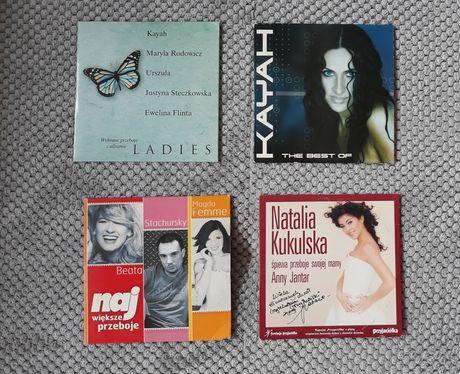 Płyta CD piosenki polskie / zestaw 4 sztuki