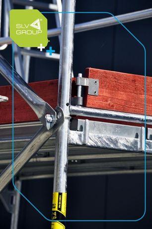 rusztowanie nowe zestaw na ścinę 12mx6,3m rusztowania poznańskie SLV70