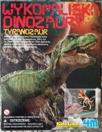 NOWY Tyranozaur Trex 3221 - 4M wykopaliska Dinozaury