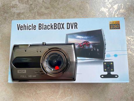 Видеорегистратор автомобильный регистратор H506 Full HD 2 камеры