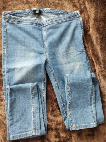 legginsy  jeansowe   wiosenno-letnie jak nowe  28  M
